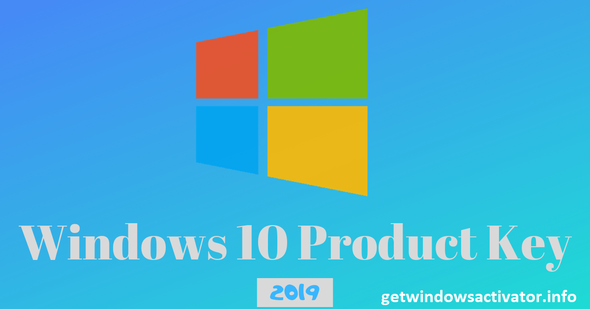 Windows 10 Product Key Free 2020