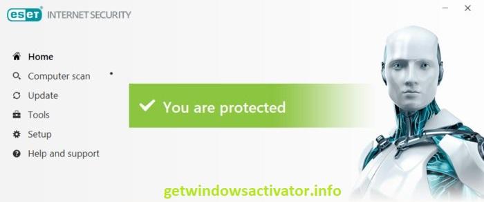 ESET Internet Security 13.1.21.0 License Key Free Download