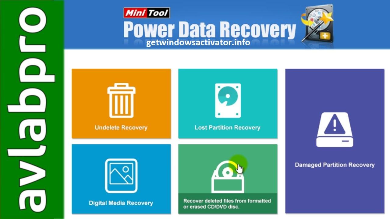 Minitool Power Data Recovery 9