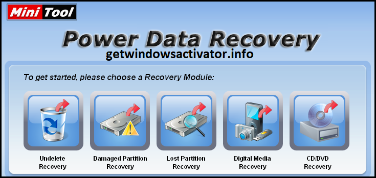Minitool Power Data Recovery 9.1.1 Crack +License Key Free Download