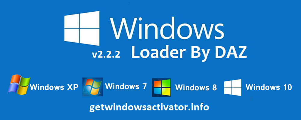 Download Windows Loader Latest By Daz Free 2020