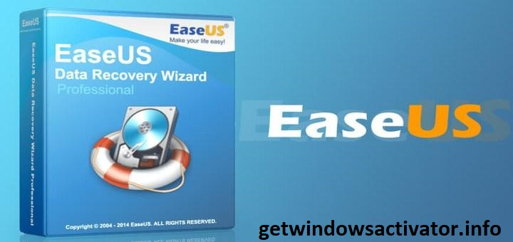 EaseUS Data Recovery Wizard 13.3 Crack + License Key 2020