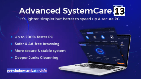 Advanced SystemCare Pro 13.5 Crack + Serial Key Free Download